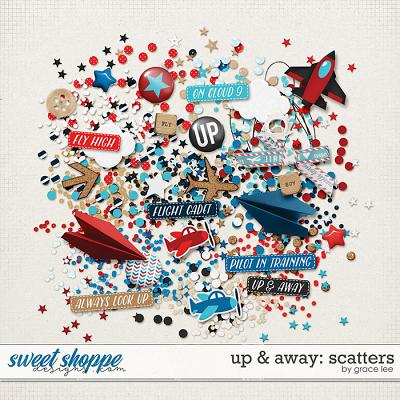 Up & Away: Scatters by Grace Lee