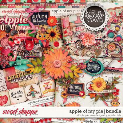 apple of my pie bundle: simple pleasure designs by jennifer fehr