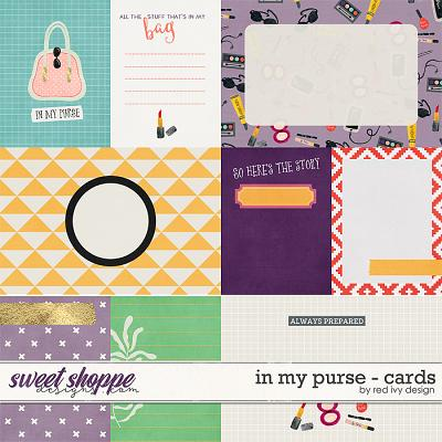 In My Purse - Cards by Red Ivy Design