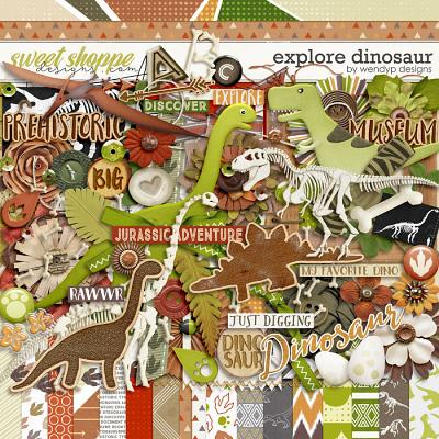 Explore dinosaur by WendyP Designs