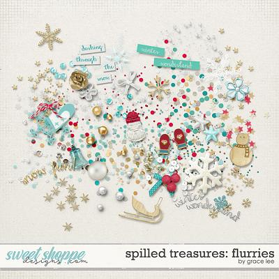 Spilled Treasures: Flurries by Grace Lee