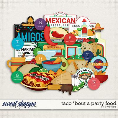 Taco 'Bout A Party Food by LJS Designs
