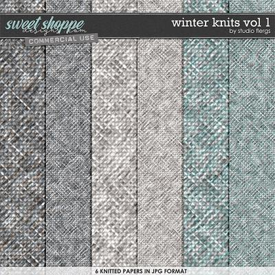 Winter Knits VOL 1 by Studio Flergs