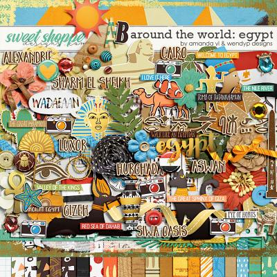Around the world: Egypt by Amanda Yi and WendyP Designs