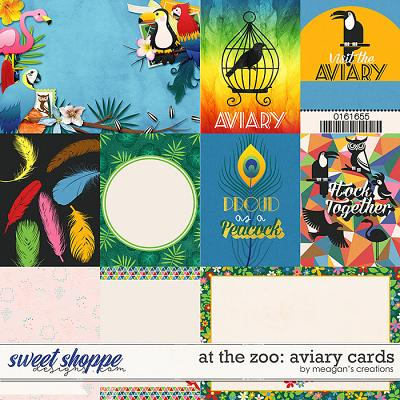 At the Zoo: Aviary Cards by Meagan's Creations