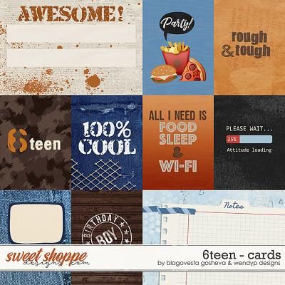 6teen {cards} by Blagovesta Gosheva & WendyP Designs