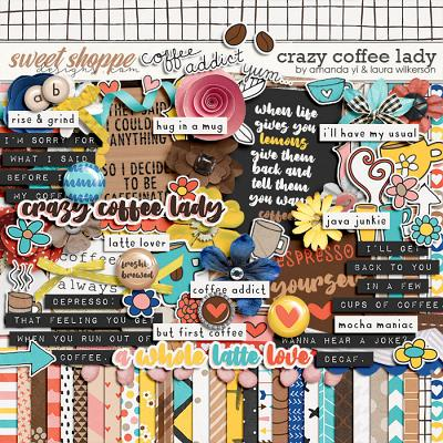 Crazy Coffee Lady by Amanda Yi and Laura Wilkerson