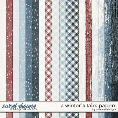 A Winter's Tale: Papers by River Rose Designs