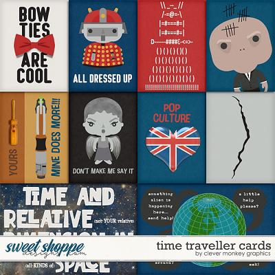 Time Traveller Cards by Clever Monkey Graphics
