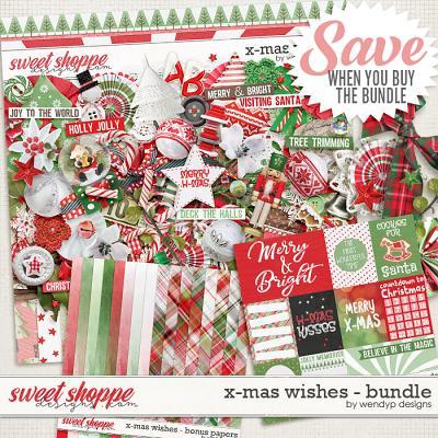 X-Mas wishes - bundle by WendyP Designs
