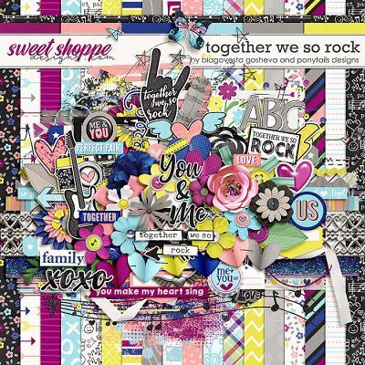 Together we so rock by Blagovesta Gosheva & Ponytails Designs