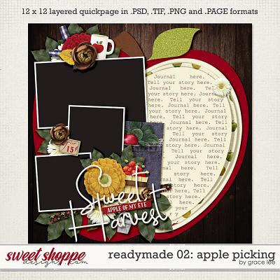 Readymade Template 02: Apple Picking by Grace Lee