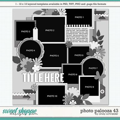 Cindy's Layered Templates - Photo Palooza 43 by Cindy Schneider