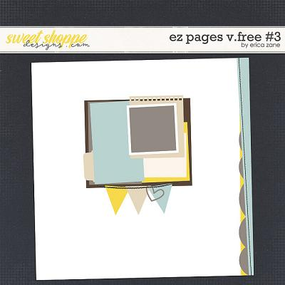 EZ Pages v.FREE #3 Template by Erica Zane