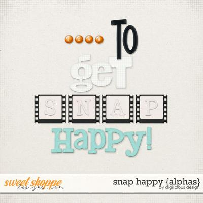 Snap Happy {Alpha} by Digilicious Design