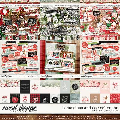 Santa Claus and Co Collection by Kristin Cronin-Barrow