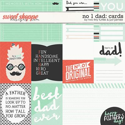 No 1 Dad: Cards by Two Tiny Turtles & Just Jaimee