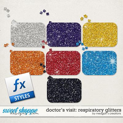 Doctor's Visit: Respiratory Glitters by Meagan's Creations