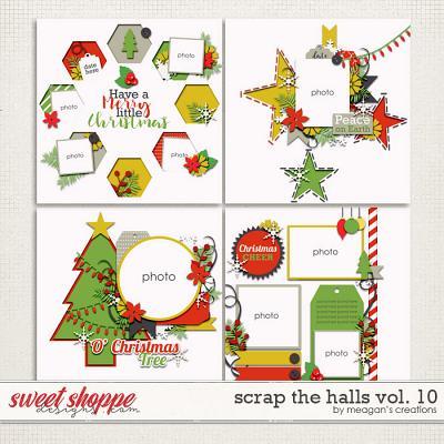 Scrap the Halls Vol. 10 by Meagan's Creations