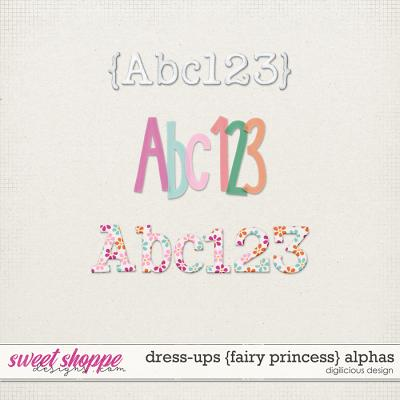 Dress-ups {Fairy Princess} Alphas by Digilicious Design