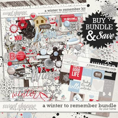 A Winter To Remember: Bundle by Amanda Yi, Studio Basic Designs & Two Tiny Turtles