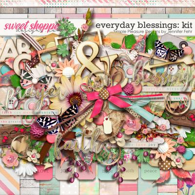 everyday blessings kit: Simple Pleasure Designs by Jennifer Fehr