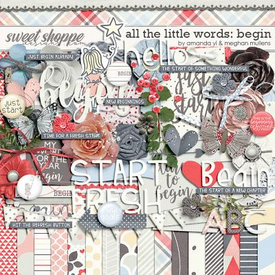 All The Little Words-Begin Kit by Amanda Yi and Meghan Mullens