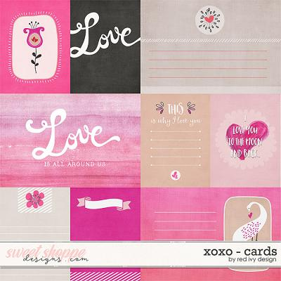 XOXO - Cards - by Red Ivy Design