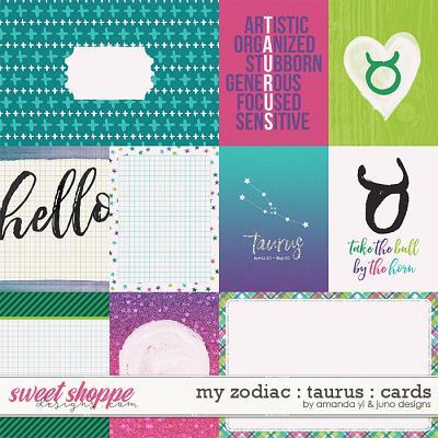 My Zodiac - Taurus: Cards by Amanda Yi & Juno Designs