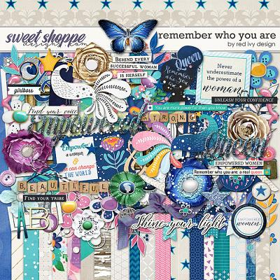 Remember Who You Are by Red Ivy Design