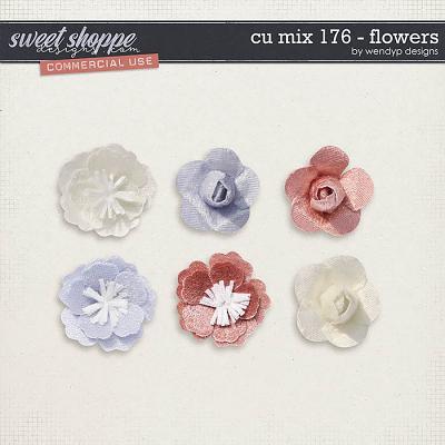 CU Mix 176 - flowers by WendyP Designs