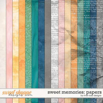 Sweet Memories: Papers by River Rose Designs