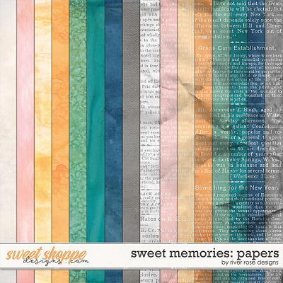 Sweet Memories: Papers by River Rose Designs
