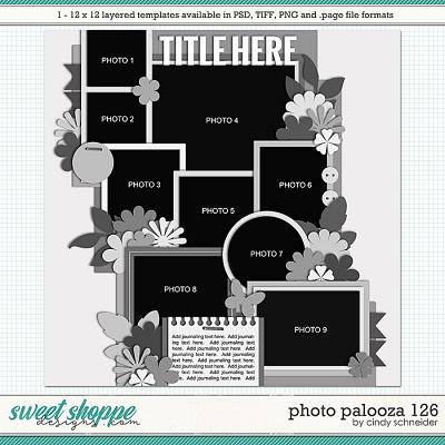 Cindy's Layered Templates - Photo Palooza 126 by Cindy Schneider