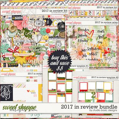 2017 In Review Bundle by Studio Basic