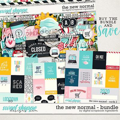 The New Normal Bundle by Digital Scrapbook Ingredients