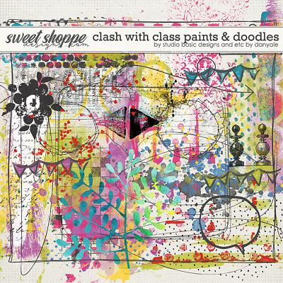 Clash with Class Paints & Doodles by Studio Basic and Etc By Danyale