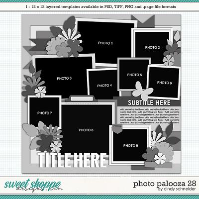 Cindy's Layered Templates - Photo Palooza 28 by Cindy Schneider