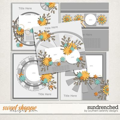 Sundrenched Layered Templates by Southern Serenity Designs