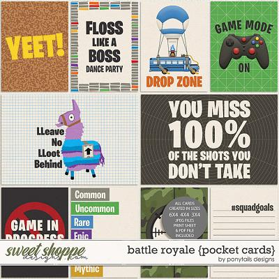 Battle Royale Pocket Cards by Ponytails