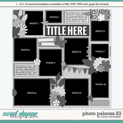 Cindy's Layered Templates - Photo Palooza 83 by Cindy Schneider