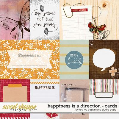 Happiness Is A Direction Cards by Red Ivy and Studio Basic