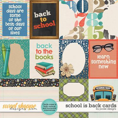 School is Back Cards by JoCee Designs
