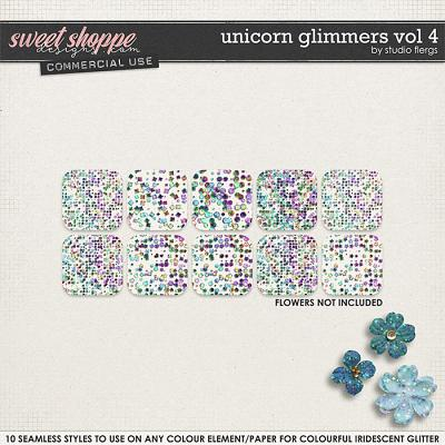 Unicorn Glimmers VOL 4 by Studio Flergs