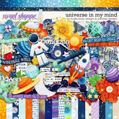Universe In My Mind Kit by Studio Basic & WendyP Designs