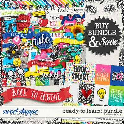 Ready To Learn: Bundle by Amanda Yi