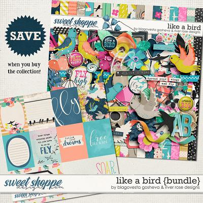 Like a Bird: Collection by Blagvesta Gosheva & River Rose Designs