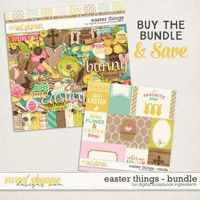 Easter Things Bundle by Digital Scrapbook Ingredients