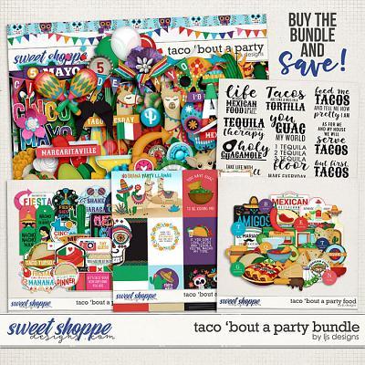 Taco 'Bout A Party Bundle by LJS Designs
