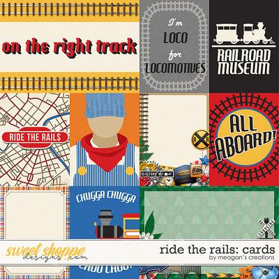 Ride the Rails: Cards by Meagan's Creations